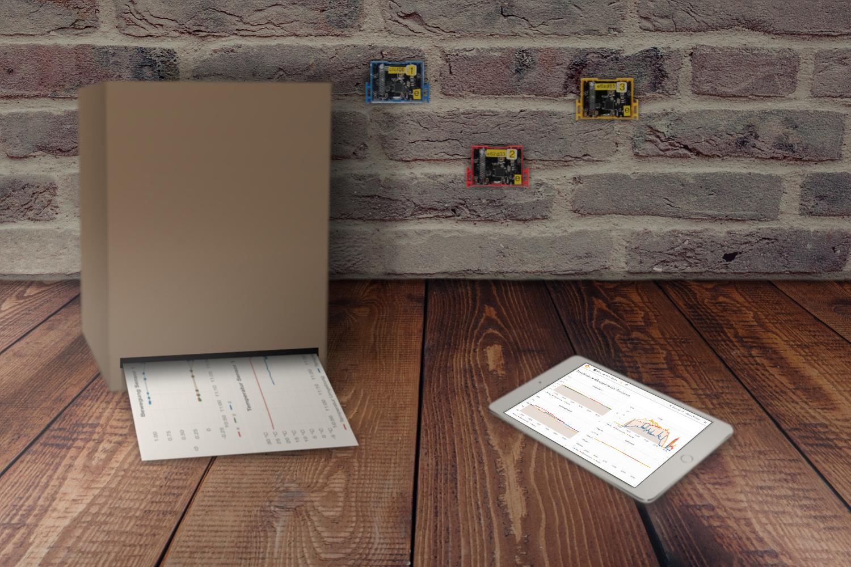 Mit der Druckerbox lassen sich Daten ganz einfach und bequem vor Ort ausdrucken.