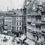 Historische Ansicht Johannisplatz, Chemnitz