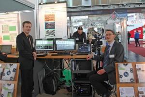 CeBIT 2012: Unser Messestand mit den Kollegen Robert Manthey und Albrecht Kurze