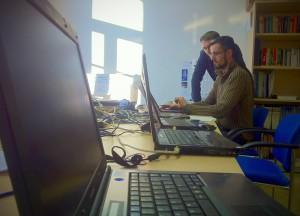 Vorbereitungen zur Liveübertragung der Chemnitzer Linux-Tage 2012